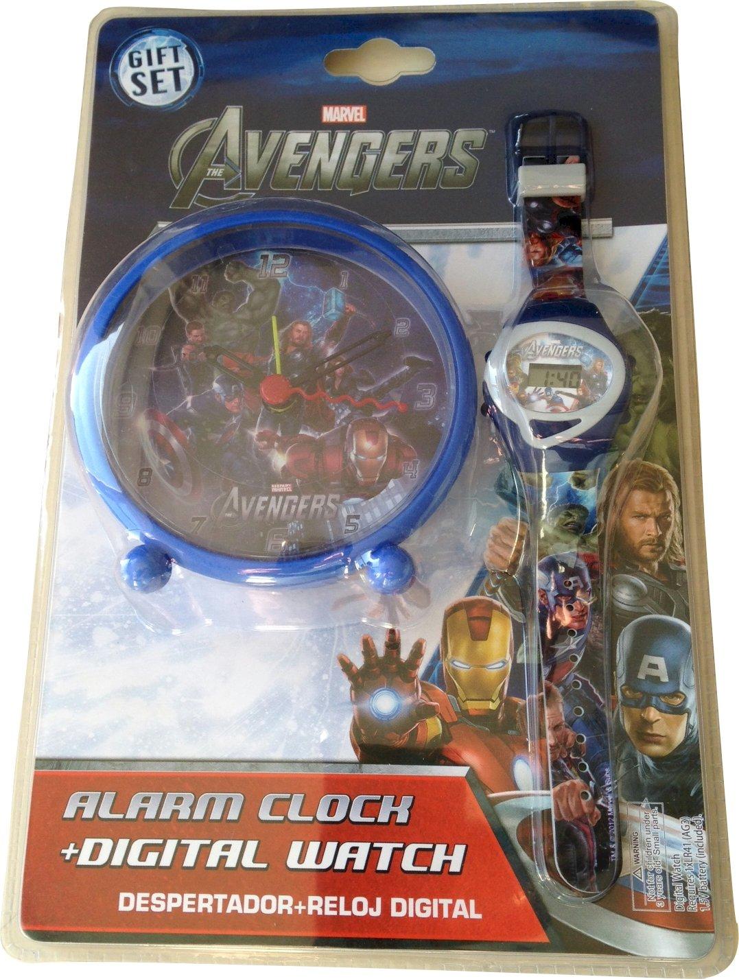 """Wecker, Uhr, Motiv: Marvel Avengers """"-Stil, Kinderzimmer jetzt bestellen"""