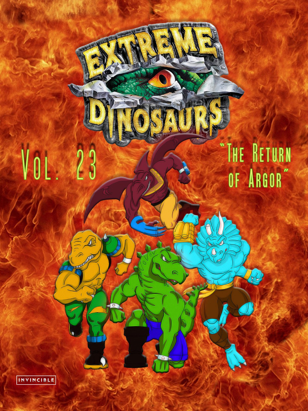 Extreme Dinosaurs Vol. 23The Return of Argor