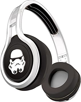 SMS Audio SMS-ONWD-SW-STORM Star Wars Stormtrooper Limited Edition Street by 50 Casque audio On-Ear filaire avec microphone intégré