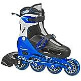 Roller Derby Cobra Boy's Adjustable Inline, Black, Medium (2-5)
