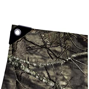 Allen Company Camo Tarp, 6 x 8 feet - Mossy Oak Break-Up Country (Color: Camo, Tamaño: One Size)