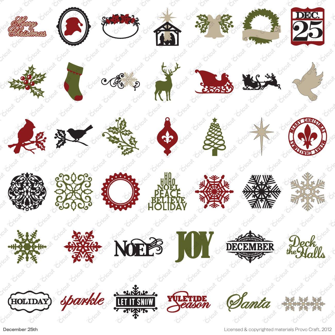 Cricut Teresa Collins December 25th Christmas Seasonal ...