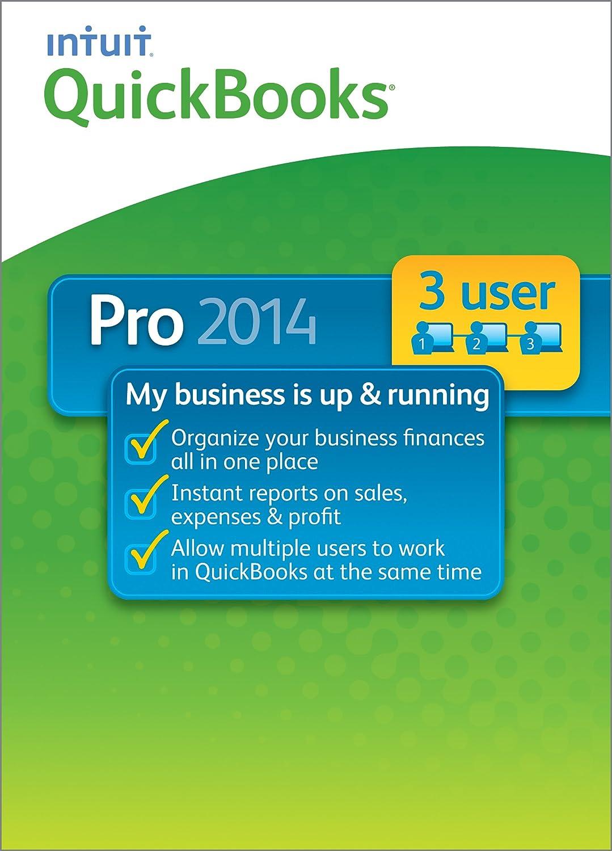 QuickBooks Pro 3-User 2014