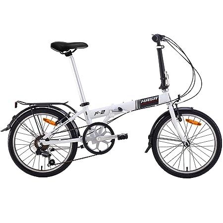 HASA Folding Foldable Bike Shimano 6 Speed