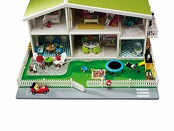 Lundby - L601010 - Poupée et Mini-Poupée - Jardin Smaland pour maison de poupée