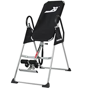 XI<sup>™</sup> Inversion Table Pro Deluxe Fitness Chiropractic Table Exercise Back Reflexology width=