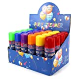 24 Pack of Party Streamer Spray String in a Can Children's Kid's Party Supplies, Perfect for Parties/Events (Exclusive Edition) (Color: Exclusive Edition)