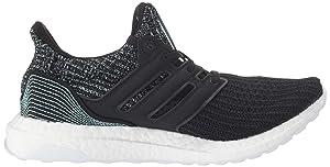 adidas Women's Ultraboost Parley, Core BlackCloud White, 8