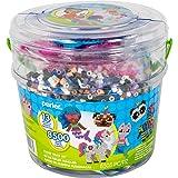 Perler PER8042963 Mystical Creatures Fuse Bead Kit, 8505pc, 13 Patterns, Multicolor (Color: Multicolor)