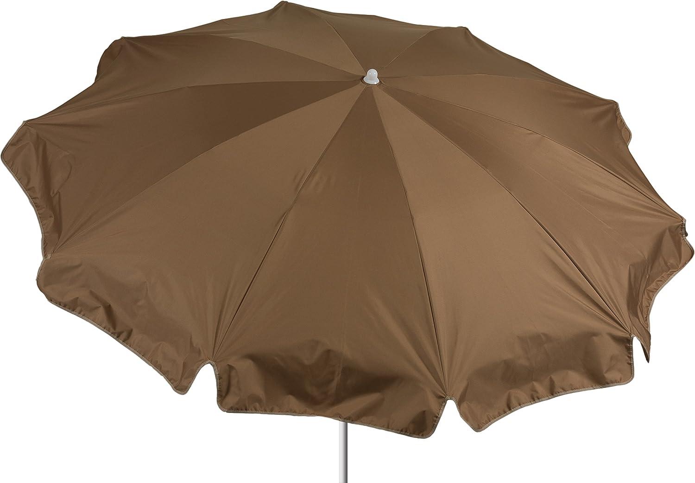 beo Sonnenschirme wasserabweisender, rund, Durchmesser 200 cm, sand jetzt kaufen