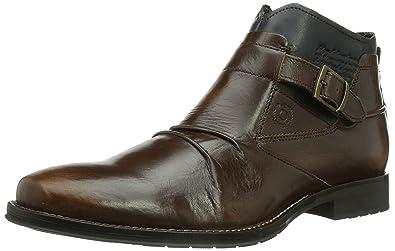 Clarks Denner Race, Sneaker uomo, Nero (Schwarz (Black Leather)), 40