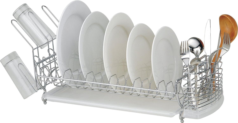 Sakura Compact Dish Rack Stainless Steel