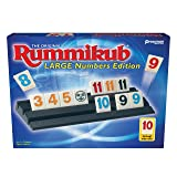 Pressman Rummikub Large Number Edition (Color: Multicolored, Tamaño: 5