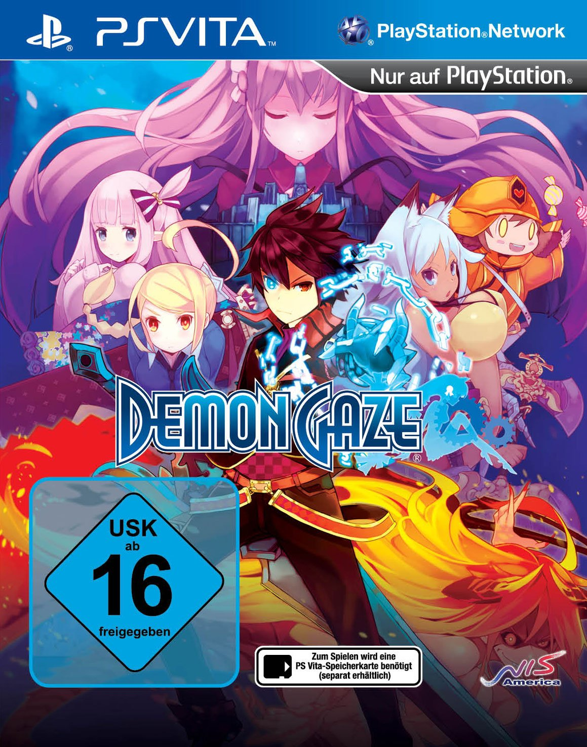 Demon Gaze, PS Vita