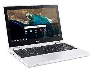 Acer Chromebook R 11 Convertible, 11.6-Inch HD Touch, Intel Celeron N3150, 4GB DDR3L, 32GB, Chrome, CB5-132T-C1LK (Color: Convertible, Tamaño: 4GB RAM, 32GB)