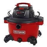 CRAFTSMAN 17594 12 gallon 6 Peak Hp Wet/Dry Vac, Portable Shop Vacuum with Attachments (Tamaño: 12 Gallon 6.0 Peak HP)