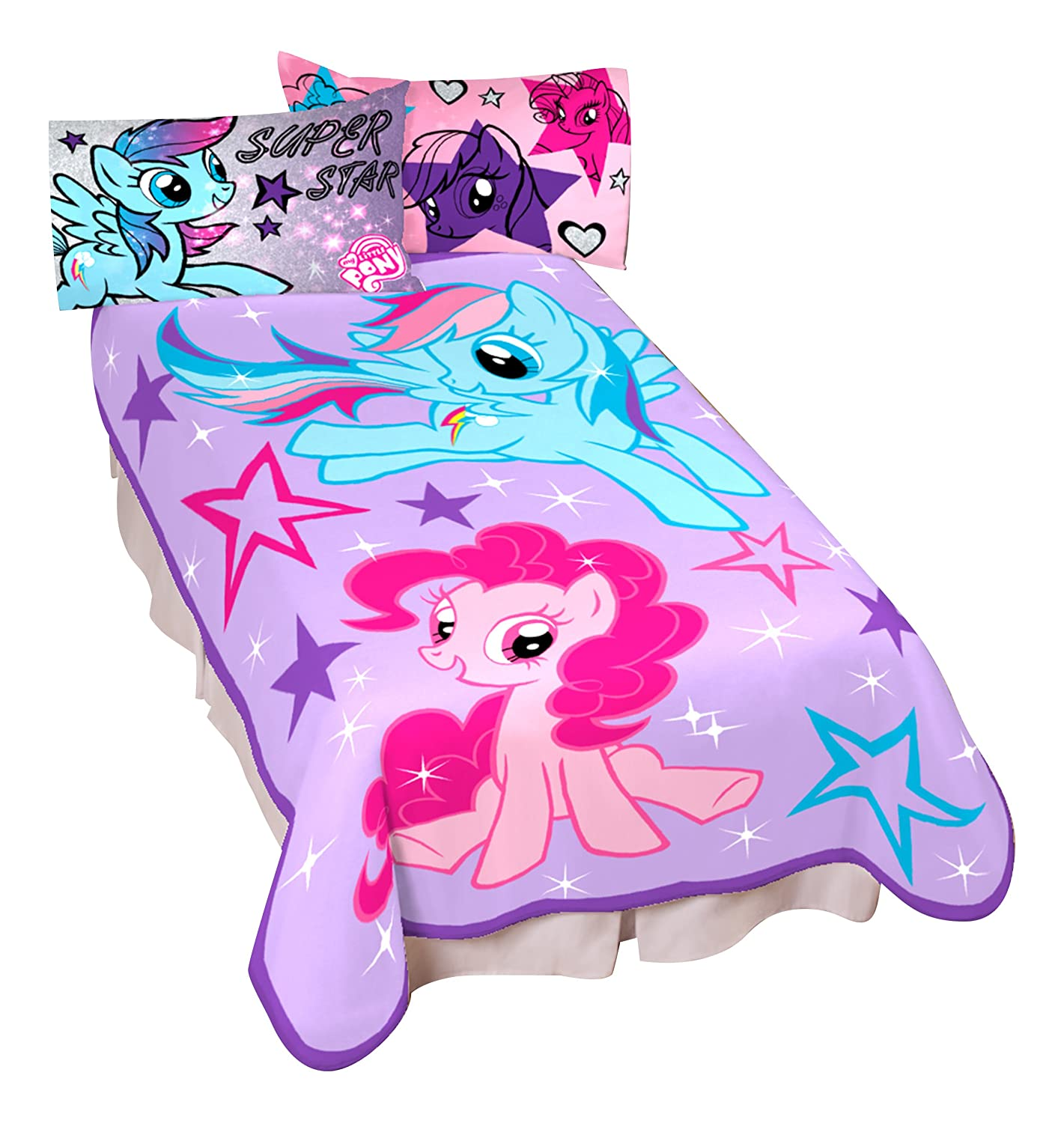 My Little Pony Sparkle and Fly Blanket