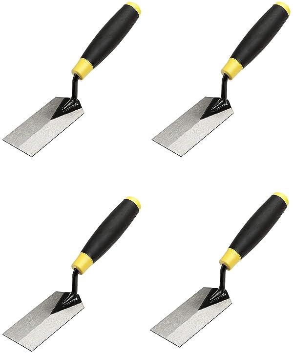 M-D Building Products 49120 Margin Trowel, Black,Yellow (F?ur ???k) (Color: Black, Tamaño: F?ur ???k)
