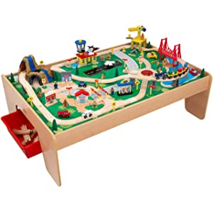 KidKraft Waterfall Mountain  sc 1 st  KidsToysGO.com & Top 10 Best Wooden Train Tables and Sets for Kids of 2018