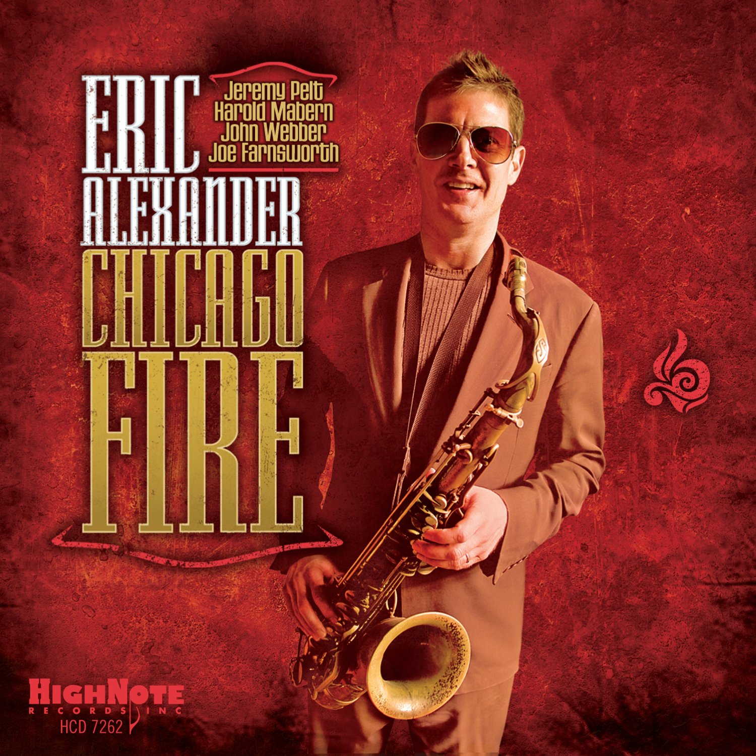 Eric Alexander  - Chicago Fire cover