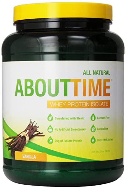 SDC Nutrition About Time Whey Protein Isolate Review