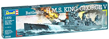 Revell - Maquette - H M S King George V - Echelle 1:570