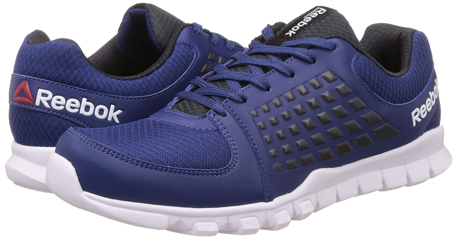 Get a dashing performance improvement in the field and at the gym with the  Reebok Electrify Speed Running Shoes. The sports shoe offers unmatched  cushion, ...