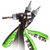 16 in 1 - Screwdriver - Nut driver - Ratcheting Screwdriver & Nut Driver - multi tool + Hammer & complementary GIFT!