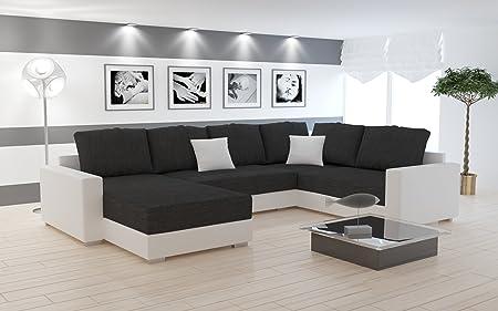 Sofa Couchgarnitur Couch Sofagarnitur STY 5 U Polstergarnitur Polsterecke Wohnlandschaft mit Schlaffunktion