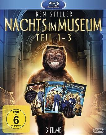 Nachts im Museum 1-3 [Blu-ray]