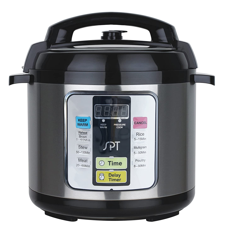 SPT EPC-11A 1000-watt Electric Pressure Cooker, 6.5-Quart