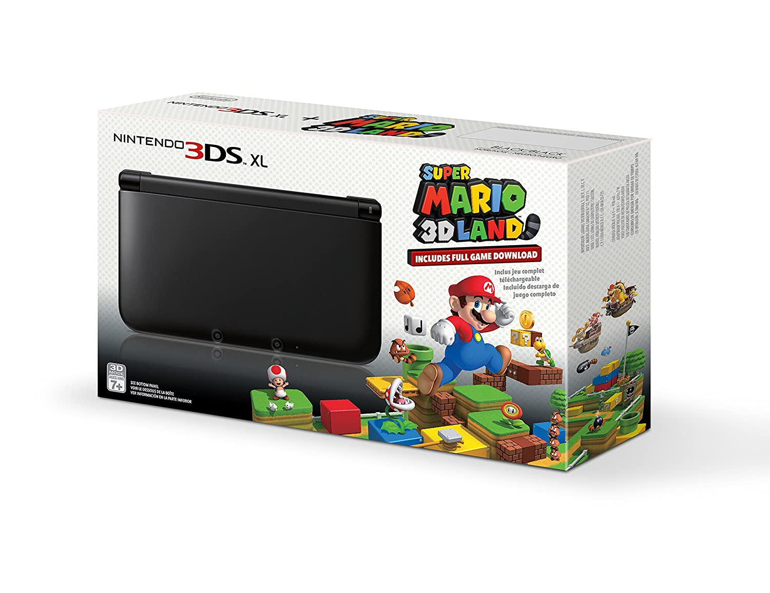 Nintendo 3ds Xl Games : Nintendo ds xl with super mario d land game