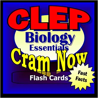 CLEP Prep Test BIOLOGY Flash Cards--CRAM NOW!--CLEP Exam Review Book & Study Guide (CLEP Cram Now! 3)