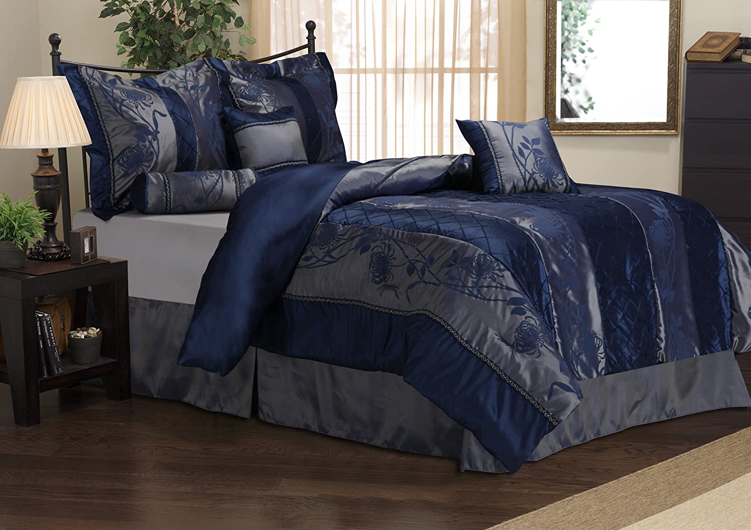 Navy Blue Comforter Sets Fel7 Com