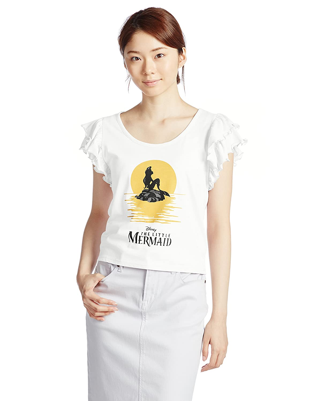(アイズビットダイカンヤマ)ISBIT DAIKANYAMA little mermaid t/s IS15310080 White F : 服&ファッション小物通販 | Amazon.co.jp