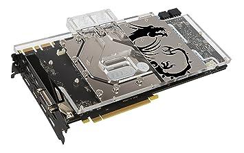 MSI Sea Hawk EK X Carte graphique Nvidia GeForce GTX1080 1847 MHz 8192 Mo PCI Express
