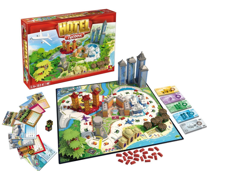 Board Game Hotel Hotel Tycoon Board Game W/free