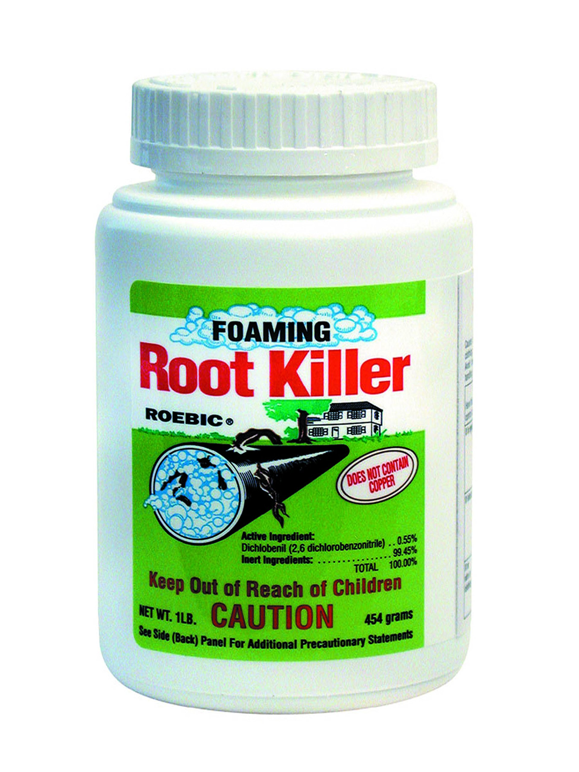 FRK Foaming Root Killer 1Pound Toilet Plumbing Clog Drain Pipes Sewer Line Clean