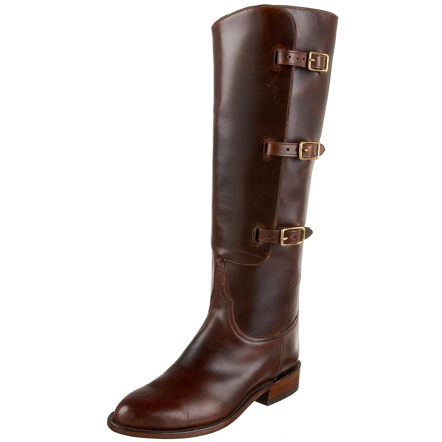 Lucchese Classics Women's GB9334 R/R Western Boot,Chocolate,10 B(M)US