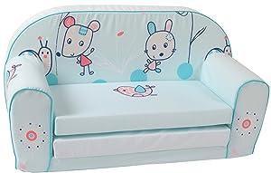 knorr 430106 Kindersofa  Animals, blau    Kundenbewertung und Beschreibung