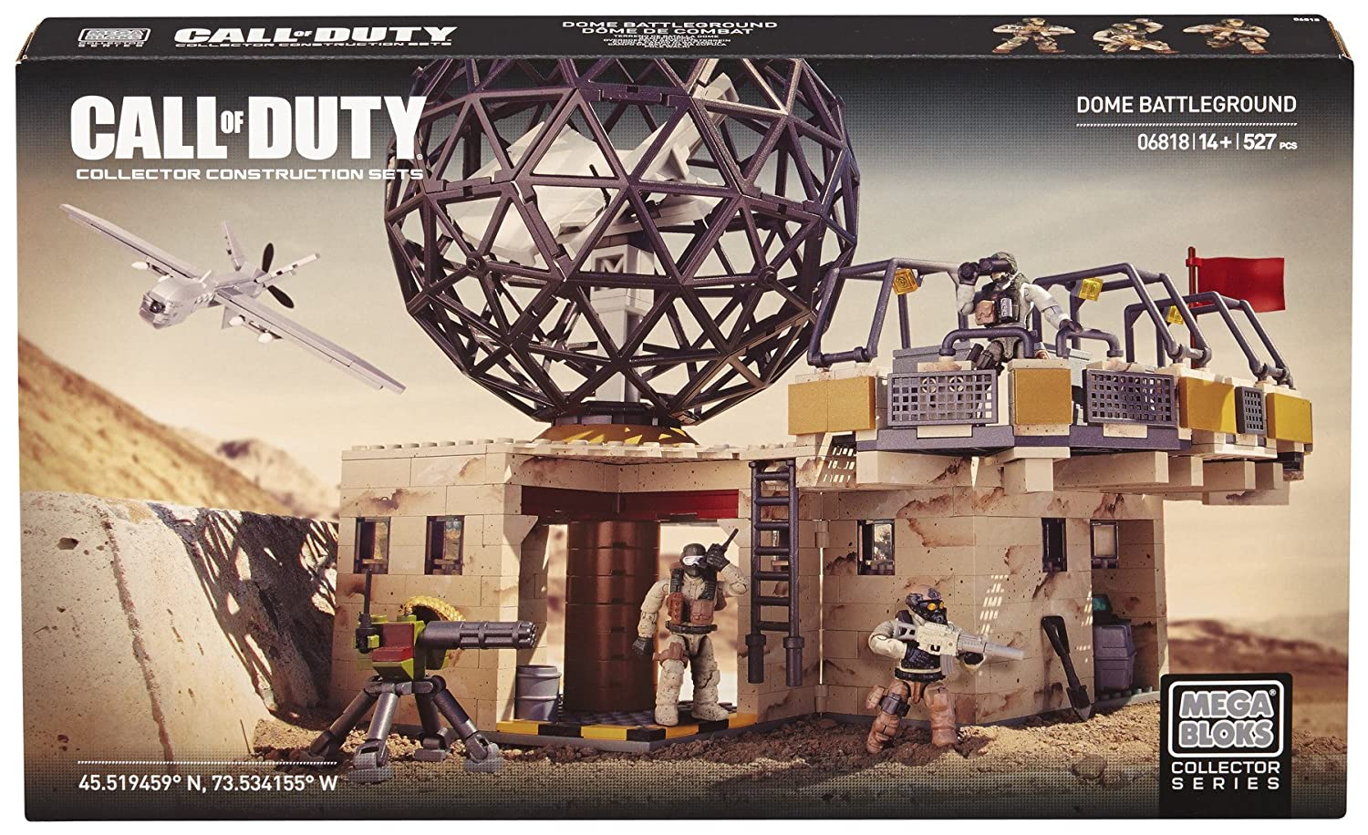 Mega Bloks Call of Duty Dome Battleground battleground