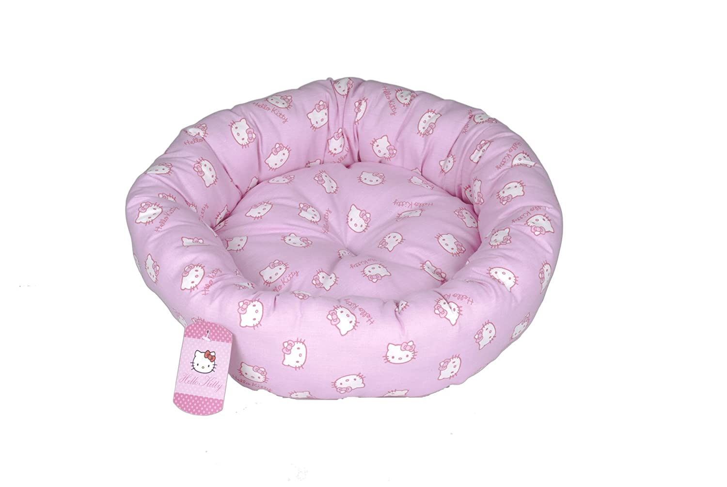 P3Sync Hello Kitty Pink Faces Oval Pet Bed [Kitchen] at Sears.com