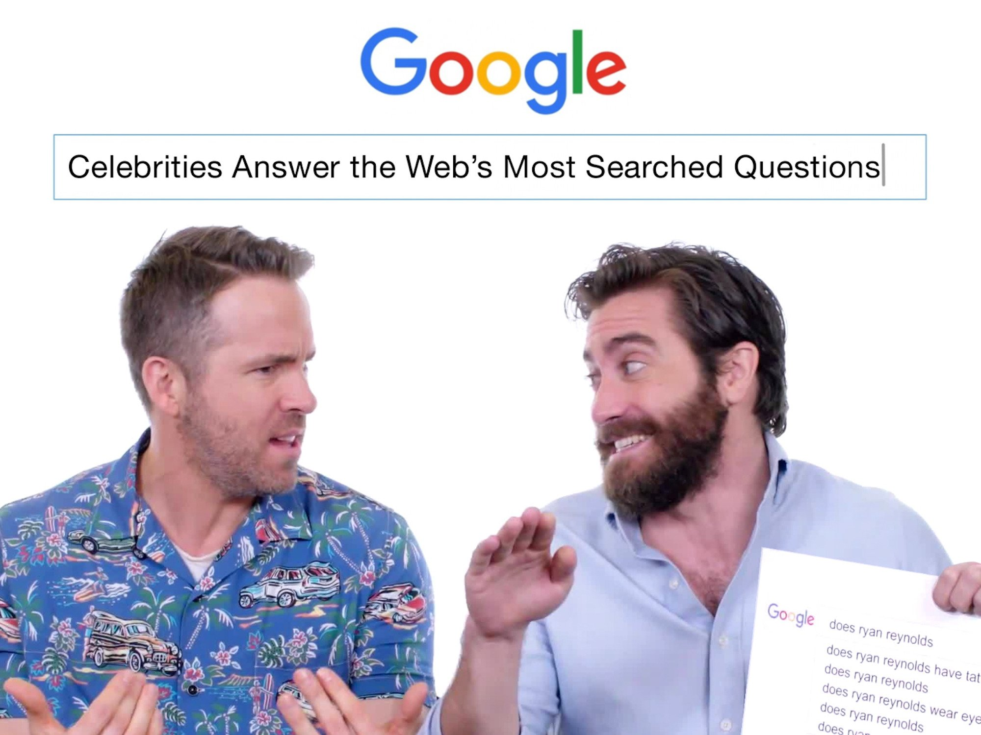 Celebrities Answer the Web's Most Searched Questions - Season 1