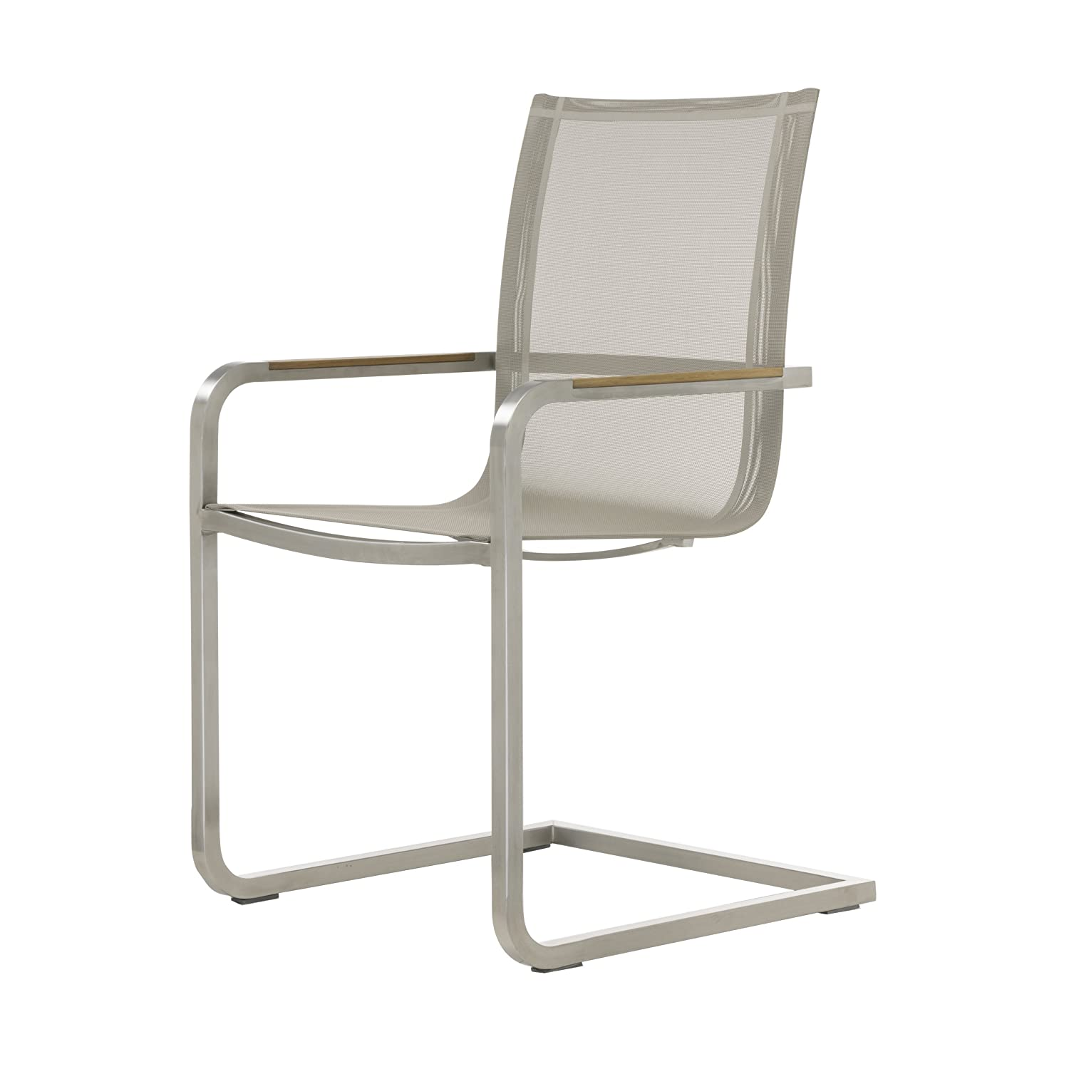 Lux Freischwinger Sessel taupe