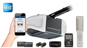 Chamberlain MyQ-enabled Whisper Drive Garage Door Opener
