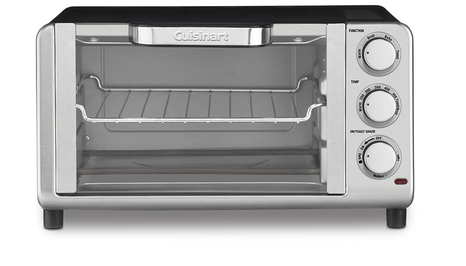 Cuisinart Tob 80 Compact Toaster Oven Broiler New Free
