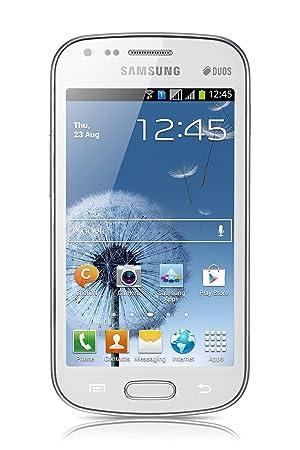 Samsung Galaxy S Duos (S7562) Smartphone débloqué (4 pouces - 4 Go) Blanc (import Espagne)