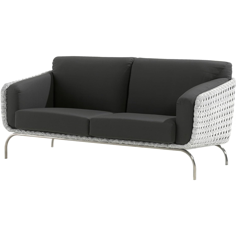 4Seasons Outdoor Luton 2.5-Sitzer Sofa Polyrattan pearl günstig bestellen