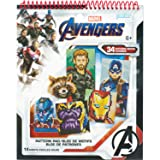 Perler Beads Marvel Avengers Pattern Instruction Pad, 34 Patterns, Multicolor (Color: Multicolor, Tamaño: Original Version)