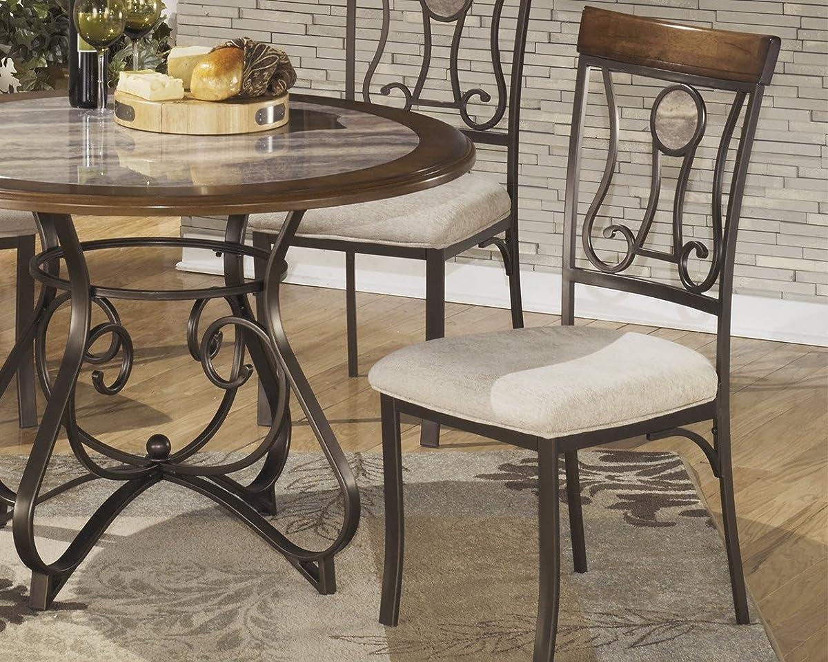Ashley Furniture Signature Design - Hopstand Dining Room Side Chair - Harp Back - Set of 4 - Brown